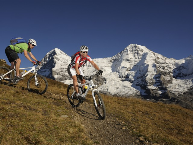 Mountainbiking in der Jungfrau Region