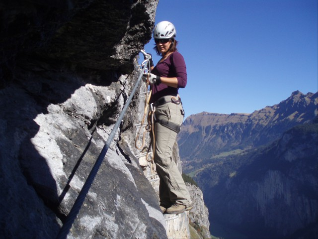 Via Ferrata in Mürren
