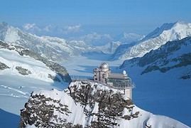 Jungfraujoch bei Grindelwlad - Top of Europe