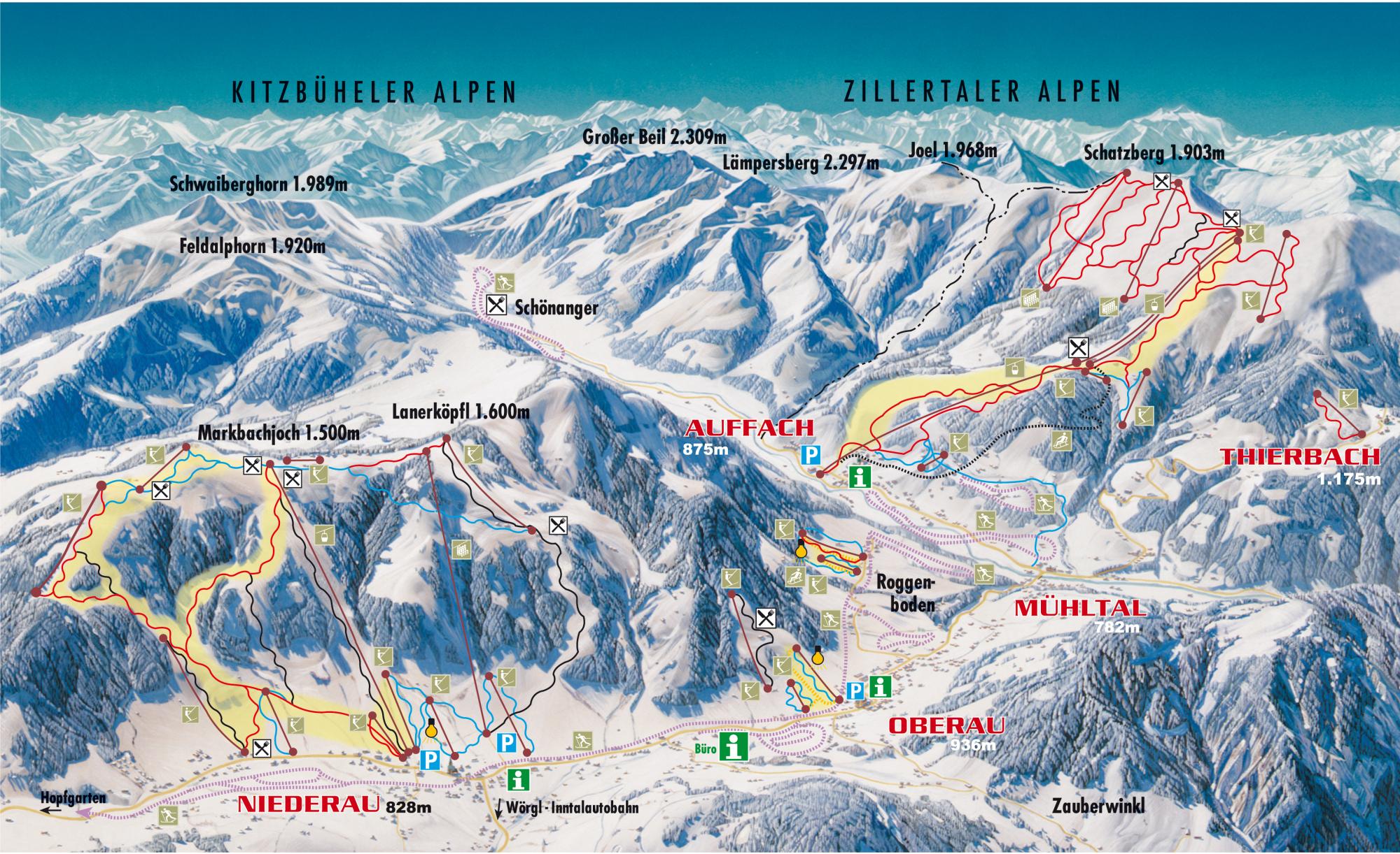 Skigebiet Stephanszell