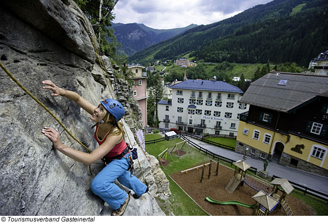 Der Klettersteig in Bad Gastein