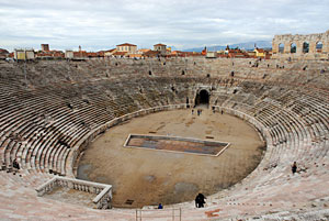 Amphitheater in Verona