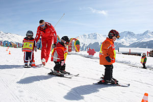 Kinderskikurs in Serfaus-Fiss-Ladis